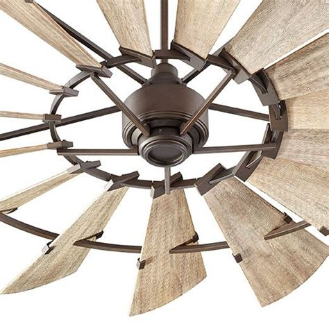 rustic farmhouse ceiling fan 72 quot windmill fan by quorum international farmhouse