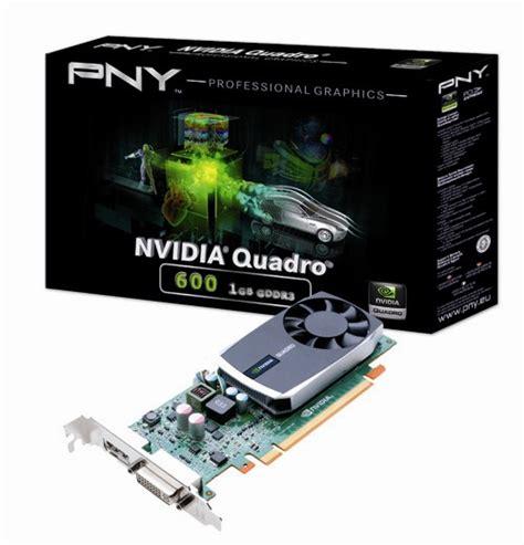 Vga Quadro 600 vga quadro 600 1gb gddr3 pcie x16 1x dp 1x dvi lp pny retail eventus sistemi
