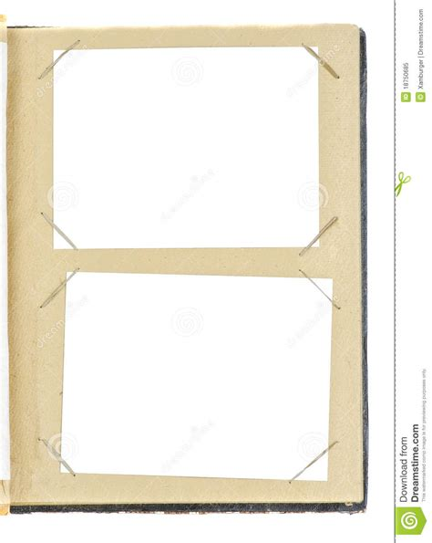 templates for photo album pages photo album page royalty free stock photo image 18750685