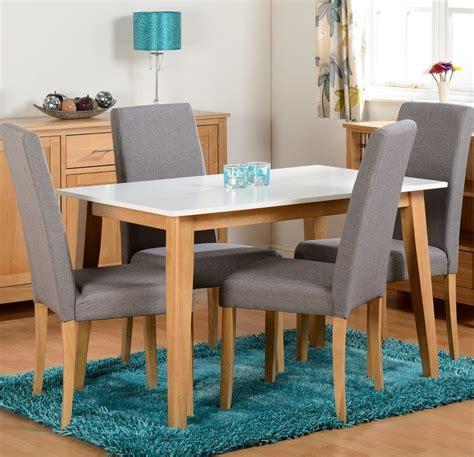 Meja Makan Kursi A jual meja makan scandinavian 4 kursi harga murah