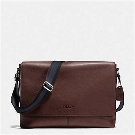Coach Sullivan Midnight coach f71726 sullivan messenger in smooth leather mahogany coach
