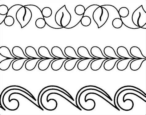 machine quilt border assortment stencil product details