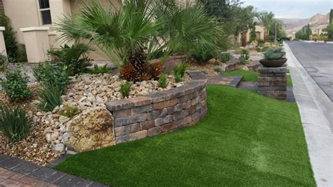 Front Yard Landscaping Mediterranean Landscape Las Las Vegas Backyard Landscaping