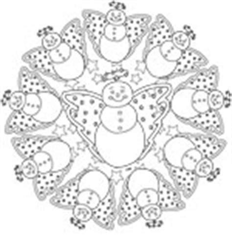 snowman mandala coloring pages christmas coloring printables and digital sts