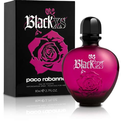 black xs parfum fragrances perfumes paco rabanne black xs women edt 80ml
