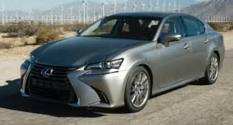 lexus details facelifted gs lineup for europe