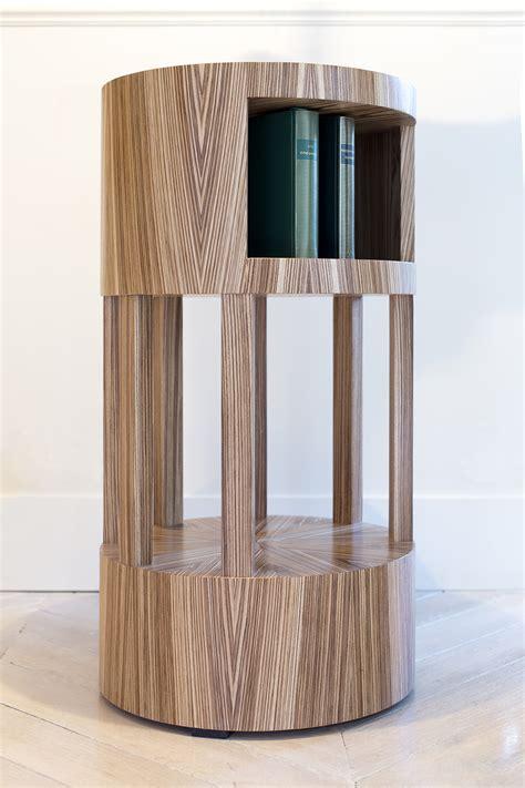 Incroyable Deco Table De Chevet #1: table-de-chevet-art-deco-moderne-ronde-soleil-zebrano-01_l.jpg