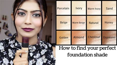 how to pick a lshade how to choose the right foundation shade beginners