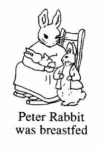 quot peter rabbit breastfed quot colouring