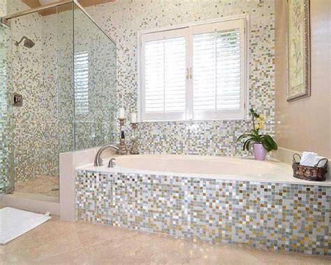 Modern Bathroom Mosaic Design 15 Mosaic Tiles Ideas For An Exquisite Bathroom Design