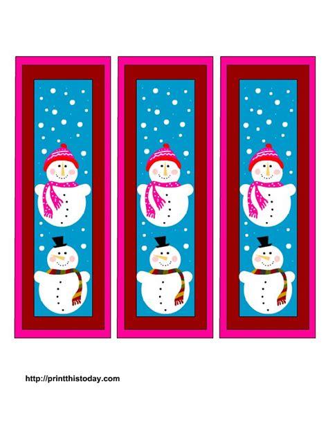 printable bookmarks pinterest free printable christmas bookmarks free christmas