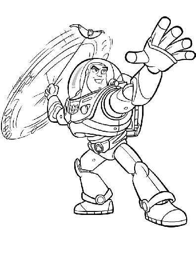 buzz bunny coloring pages buzz lightyear of star command 10 cartoons printable