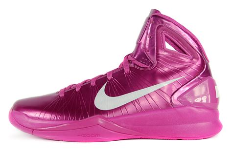 pink breast cancer basketball shoes nike hyperdunk 2010 sz 12 5 mens basketball shoes breast