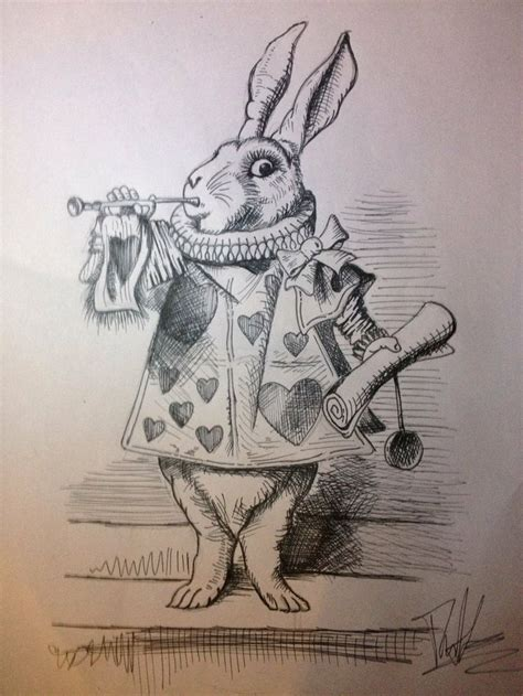 tattoo pen rabbit 17 best images about alice in wonderland tattoo ideas on