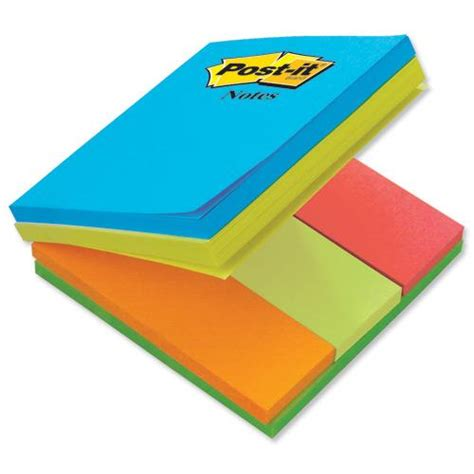 Post It Multi Page 3m post it multi notes 76x76mm 3 notepads and 3 page