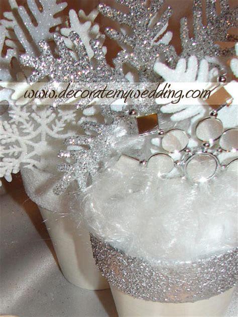 Winter Wonderland Wedding Decorations Ideas - decorate my wedding com wedding decorations for rent snowflake bouquets winter wonderland