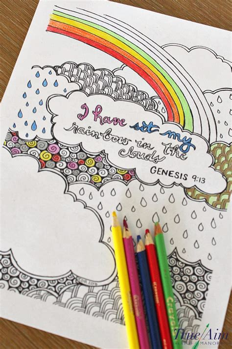 rainbow coloring pages with bible verses 6 bible verse coloring pages true aim