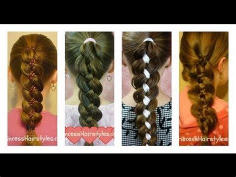 how to four 4 strand braid tutorial