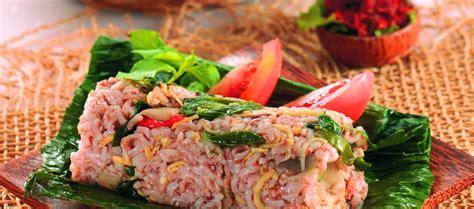 resep membuat nasi merah bakar resep nasi merah bakar isi ayam love indonesia recipe