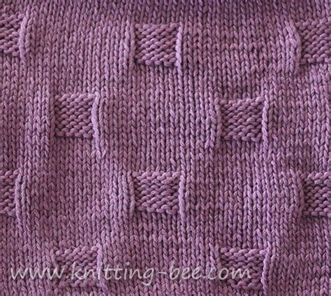 how to use a knitting bee free cobblestones stitch and dishcloth knitting pattern
