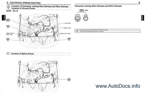 1996 toyota camry wiring diagram toyota camry 1996 wiring diagram repair manual order