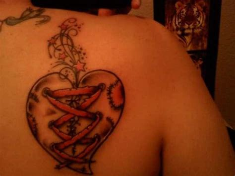 broken heart tattoos for men heartbreak quotes for quotesgram
