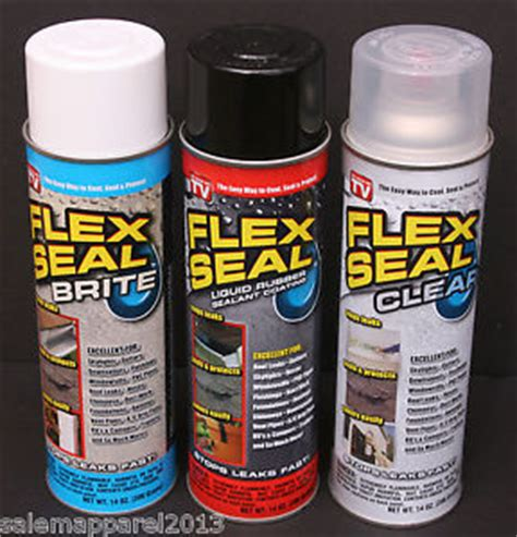 clear rubber st new flex seal liquid spray rubber sealant brite white