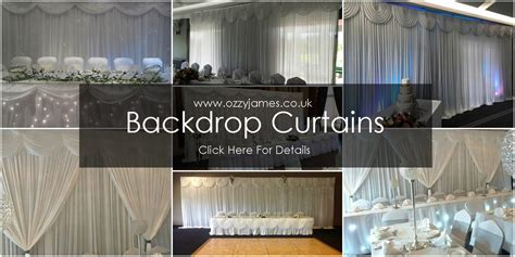 Wedding Backdrop Hire Uk by Wedding Backdrop Curtain Hire Ozzy Events