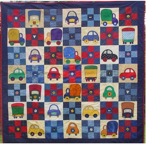 Boys Patchwork Quilts - baby childrens quilts on baby quilts boy