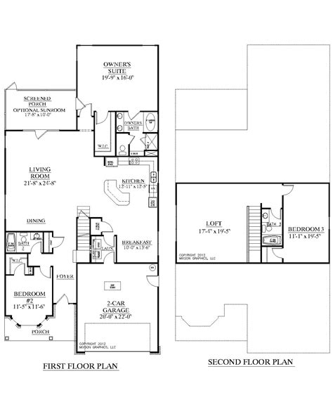 1 1 2 story floor plans southern heritage home designs house plan 2632 a the