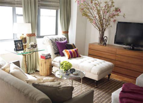 studio apartment living room plush palate nate berkus how to make a small place feel big