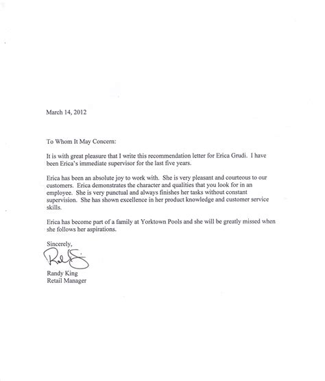 Research Letter Of Recommendation writing a letter of recommendation verification in