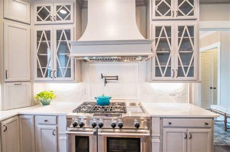 whisper white kitchen highland park whisper white 3x6 arched herringbone