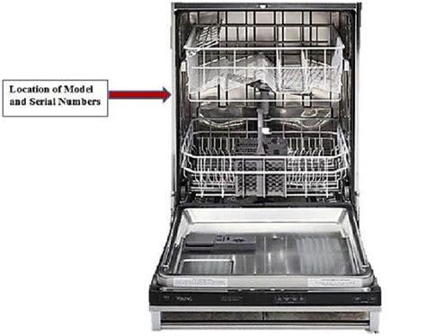 Kitchenaid Dishwasher Overheating Dishwasher Model Number Location Get Free Image About