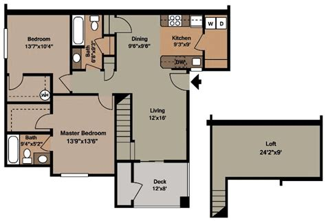 two bedroom two bath floor plans two bedroom mission luxury apartments