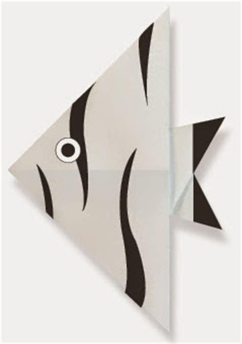 Engel Origami - engel fish easy origami for