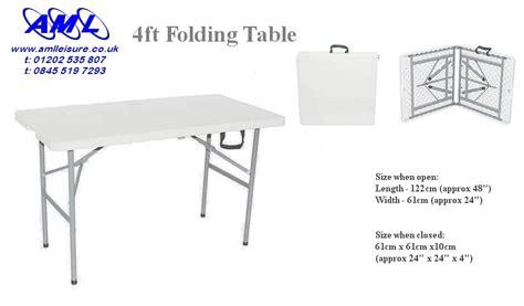 4ft folding table adjustable height 4ft folding table adjustable height 100 images 4ft