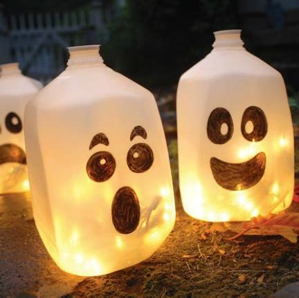kids halloween craft cute ghost milk jug easy 15 of the best halloween crafts for kids