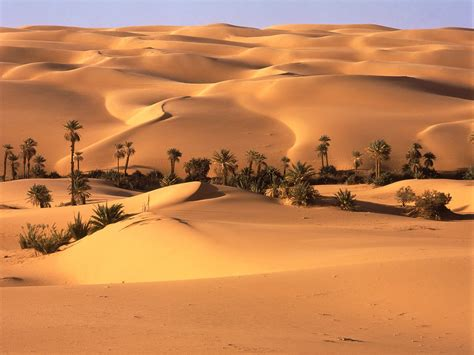 gambar pemandangan gurun pasir  gambar keren