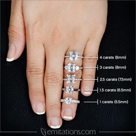 alison s 3 ct asscher cut cz 3 stone ring