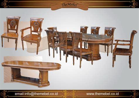 Meja Makan Jati 8 Kursi jual set meja makan 8 kursi 002 jati harga murah furniture minimalis mebel ukir jepara