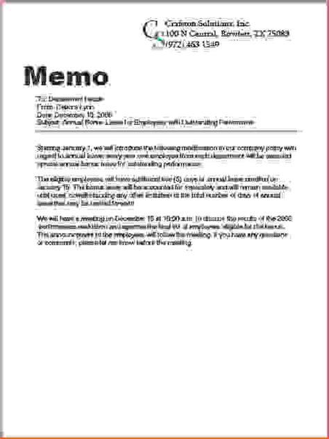 Memo Format Closing 7 What Is A Memo Memo Formats