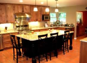large kitchen island with eating and entertaining space kitchen with eat in island bar
