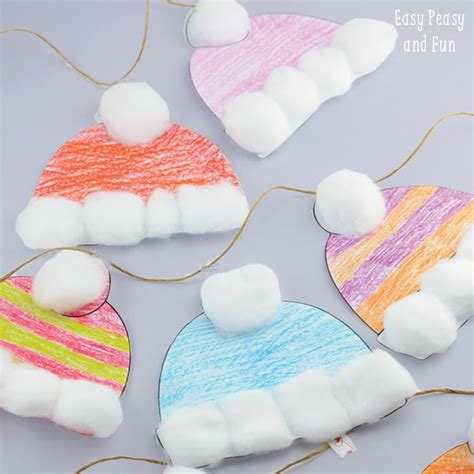hat craft winter hats craft for classroom craft