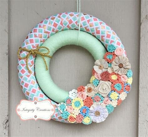 Ideas Handmade - 15 joyful handmade wreath ideas to decorate your