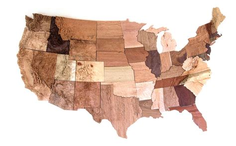 woodworkers of the world convert geological information into a custom map fit for
