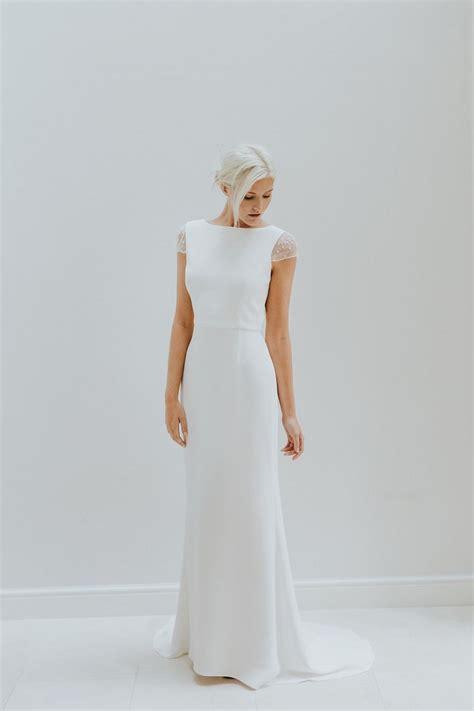 25 best ideas about modern wedding dresses on pinterest