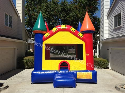 13x13 Castle Bounce House Rentals Livermore Ca Water Bounce House Rental Ca