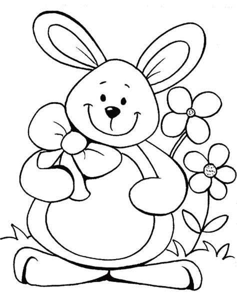 dibujos para pintar con x 64 im 225 genes de huevos y conejos de pascua para colorear