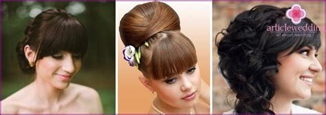 Wedding Hairstyles With Bangs And Veil by Wedding Hairstyles With Bangs And Veil Photo Options